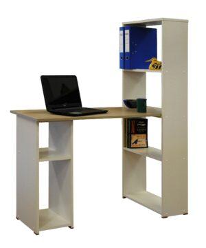 שולחן מחשב עם ספריה דגם BC613Y