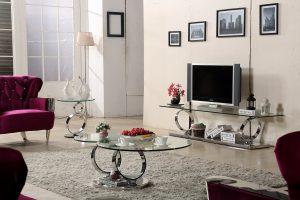 מזנון זכוכית דגם – TV 28857