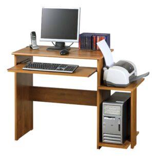 שולחן מחשב עם מדף למדפסת דגם אביאל