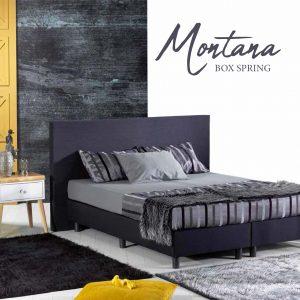 מיטה זוגית מרופדת דגם MONTANA הכוללת ארגז מצעים מבית BAZARONE
