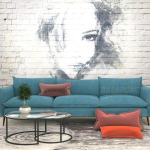 ספה מעוצבת שני בהתאמה אישית מבית BazarOne