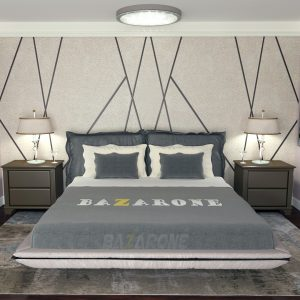 מיטה מרופדת דגם ונסה מבית BazarOne