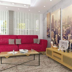 ספה מעוצבת ספיר בהתאמה אישית מבית BazarOne