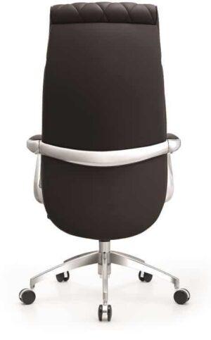 כסא מנהל ארגונומי דמוי עור דגם ברוקר