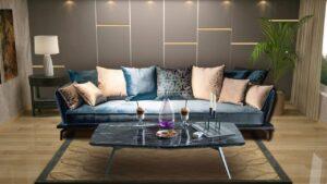 ספה תלת דגם lounge