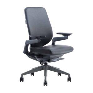 כסא מנהל נמוך דגם פלקס עור