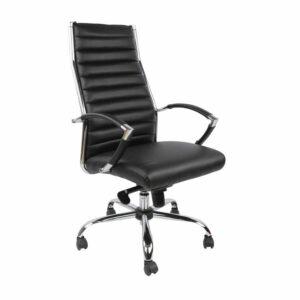 כסא מנהלים הייטק, דגם שירה שחור מעוצב באלגנטיות