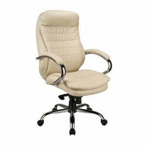 כסא מנהלים מפואר צבע לבן